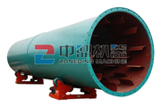 Rotary Dryer Used for drying limestone slag, coal powder, clay stone
