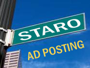 The Job involves posting of business ads on various web sites. We will