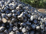 USED Ac/fridge compressor scrap /Battery lead drained scrap..