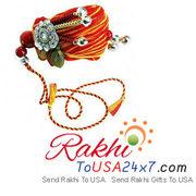 Relishing sweetness with desire thread of Rakhi