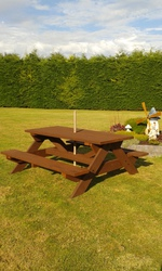 Quality 8 seater Picnic Benches