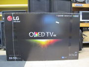 LG OLED55E6P Flat 55-Inch 4K Ultra HD Smart OLED TV
